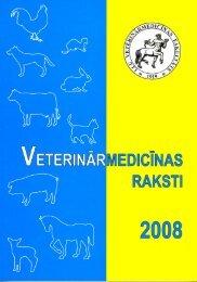 ProceedingS 2008 - Latvijas Lauksaimniecības universitāte