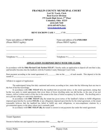 application for discontinuance county court criminal
