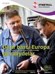 De är bäst i Europa på rallydelar - IF Metall