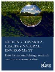 Nudging Toward a Healthy Natural Environment - Center for Climate ...