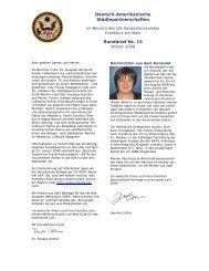 Deutsch-Amerikanische Städtepartnerschaften Rundbrief Nr. 15