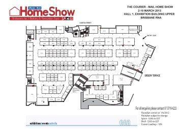 2013 Mar EB Up Floor Plan July rate1 - The Brisbane Home Show