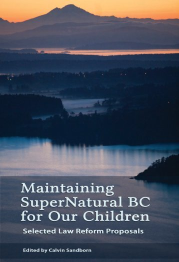 Maintaining SuperNatural BC for Our Children - CoalWatch Comox ...