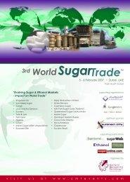 Evolving Sugar & Ethanol Markets - CMT Conferences