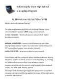 Indooroopilly State High School 1-1 Laptop Program FILTERING ... - Page 2