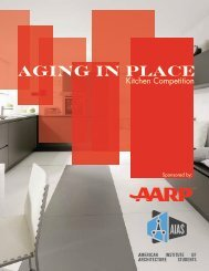 AGING IN PLACE - AARP - AIAS