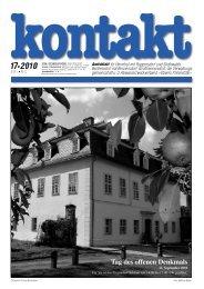 Ausgabe 17 (09.09.2010) PDF - Herrnhut