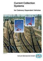 Current Collection System for Catenary Dependant Vehicles