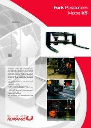 Fork Positioners Model KS - ZHE
