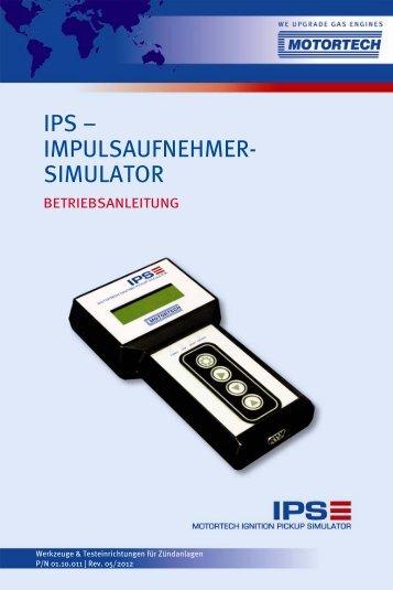 IPS – IMPULSAUFNEHMER- SIMULATOR - Motortech GmbH