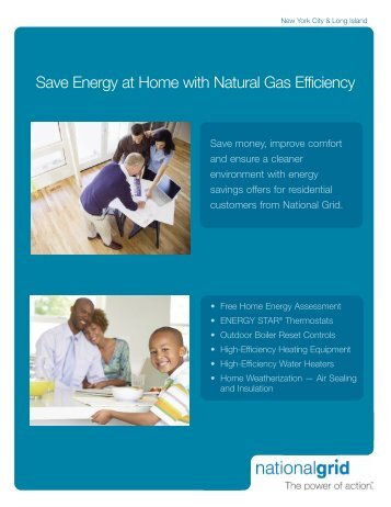 Save Energy at Home with Natural Gas Efficiency - Oil Tech Talk