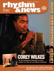 IN THIS ISSUE: JAZZ SHOWCASE RE-OPENS ... - Delmark Records
