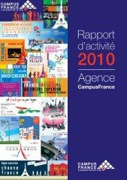 Rapport d'activité 2010 - Campus France