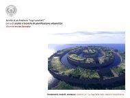Fondamenti 3. L'urbanistica delle utopie - Facoltà di Architettura ...