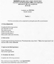 Academic year 2003/2004 Second semester Test No. 2 *A11 the ...