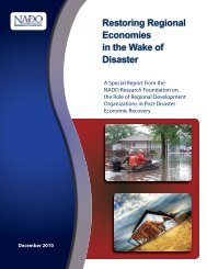 Restoring Regional Economies in the Wake of Disaster - Earthquake ...