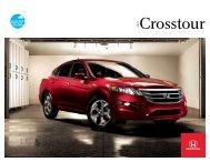 Crosstour - Honda Canada