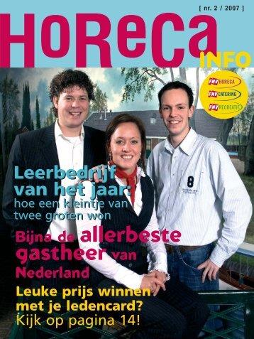 nr. 2 / 2007 - FNV Horecabond