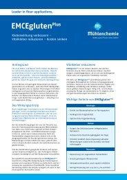 Deutsch (370 KB) - Mühlenchemie GmbH & Co. KG