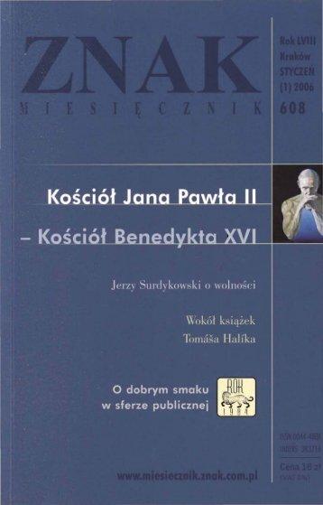 Nr 608, styczeń 2006 - Znak