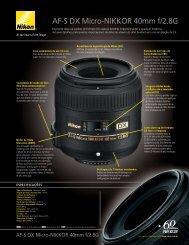 AF-S DX Micro-NIKKOR 40mm f/2.8G