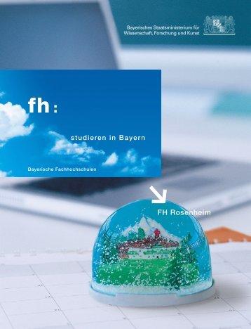 FH Rosenheim - Bavarian Universities