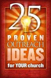 25 Outreach Ideas booklet - Outreach Magazine