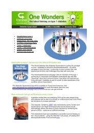 November 2012 - Diabetes Queensland