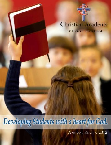 Annual Review 2012 - Christian Academy School System
