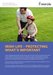 IRISH LIFE - PROTECTING WHAT'S IMPORTANT - Best Advice