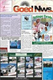 pagina 1.indd - Weekblad Goed Nieuws