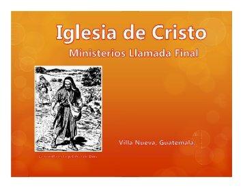 El discípulo y su mente..pdf - IGLESIA DE CRISTO - Ministerios ...