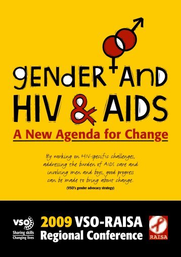 Gender and HIV and AIDS - A new agenda for change - VSO