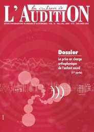 Télécharger le PDF complet N°6 Année 2005 - Collège National d ...