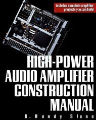 High power audio amp