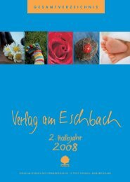 G E S A M T V E R Z E I C H N I S - Verlag am Eschbach