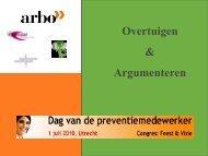 Tactiek & strategie: overtuigen & argumenteren - Arbo Online