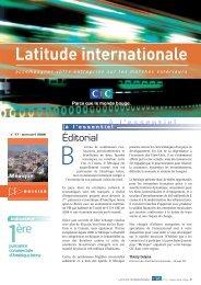 Latitude Internationale n°17 - CIC
