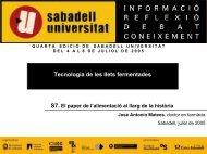 6. Elaboración de yogur y leches fermentadas - Sabadell Universitat