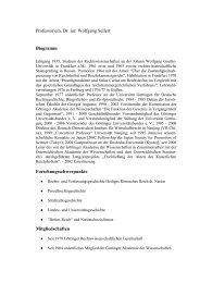 Professor Dr. jur. Wolfgang Sellert - Abteilung für Deutsche ...