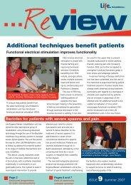 Additional techniques benefit patients - saslha