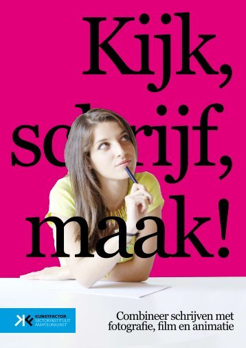 Pdf Kijk, schrijf, maak!