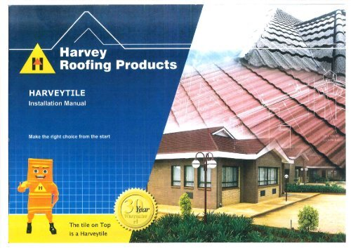 HARVEYTILE Product brochure - Macsteel