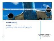Aircraft Dependent Surveillance – Broadcast (ADS-B) ADS-B ...