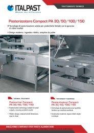 Pasteurisateur Compact PA 30/50/100/150 - Italpast