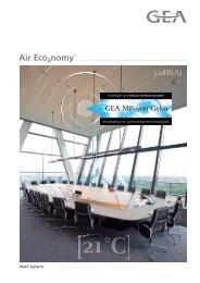 Commerciële brochure MPower Geko - GEA Happel Belgium