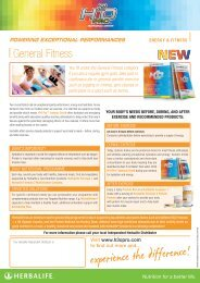 General Fitness - Feel Good Nutrition