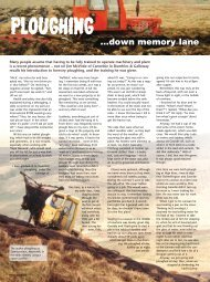 Ploughing down memory lane - Forestry Journal