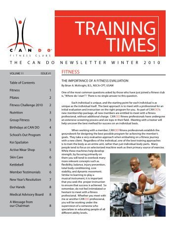 Newsletter for email 100101.indd - Can Do Fitness Clubs