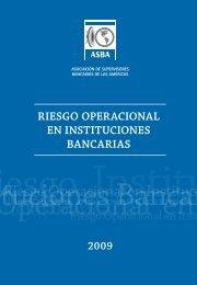 riesgo operacional en instituciones bancarias - Consejo ...